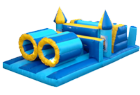 24 x 12ft Minions Obstacle Course
