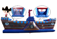 32 x 11ft Obstacle Course Pirate Ship